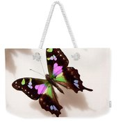 Pretty Butterfly Weekender Tote Bag