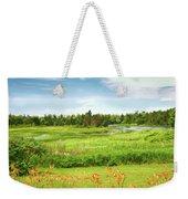 Pretty Countryside Weekender Tote Bag