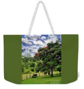 Pretty Countryside Weekender Tote Bag