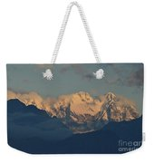 Pretty Countyside In Italy With Huge Mountains  Weekender Tote Bag