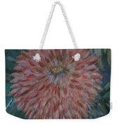 Pretty Dahlia Weekender Tote Bag