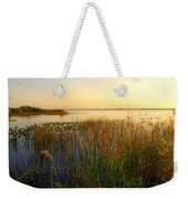 Pretty Evening At The Lake Weekender Tote Bag