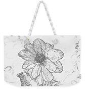 Pretty Flower Weekender Tote Bag