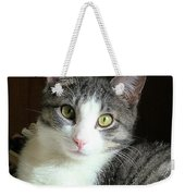 Pretty Girl Kitty Weekender Tote Bag