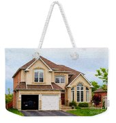 Pretty House Weekender Tote Bag