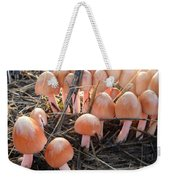 Pretty In Pink Mushrooms Weekender Tote Bag