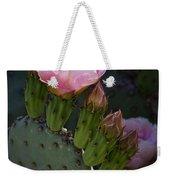 Pretty In Pink Prickly Pear  Weekender Tote Bag