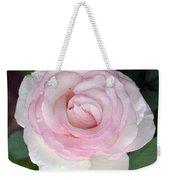 Pretty In Pink Rose Weekender Tote Bag