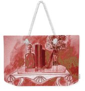 Pretty In Red Weekender Tote Bag