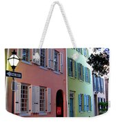 Pretty Lane In Charleston Weekender Tote Bag