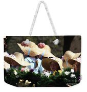 Pretty Little Flower Girls Weekender Tote Bag