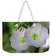 Pretty Little Flowers Weekender Tote Bag