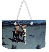 Pretty Mother Of The Night White Otter Is No Longer A Boy 1900 Weekender Tote Bag