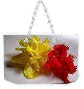 Pretty Pair - Double Hibiscuss Weekender Tote Bag