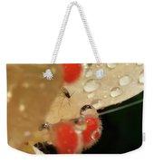Pretty Peach Hibiscus  Weekender Tote Bag