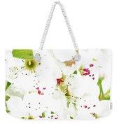 Pretty Pear Petals Weekender Tote Bag