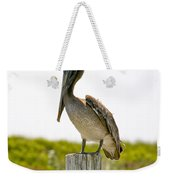 Pretty Pelican Weekender Tote Bag