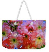 Pretty Petals Weekender Tote Bag