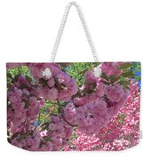 Pretty Pink Blossoms Weekender Tote Bag