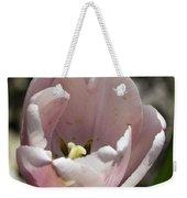 Pretty Pink Tulip Squared Weekender Tote Bag