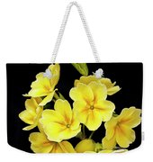 Pretty Primrose Weekender Tote Bag