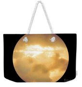 Pretty Storm Clouds With Sun Shine Weekender Tote Bag