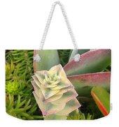 Pretty Succulents Weekender Tote Bag