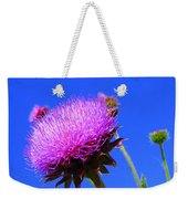 Pretty Weed Weekender Tote Bag