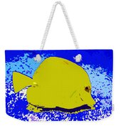 Pretty Yellow Fish Weekender Tote Bag