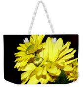Pretty Yellow Flowers Weekender Tote Bag