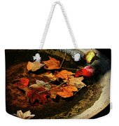 Priceless Leaves Fall Weekender Tote Bag