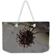 Prickly Liquidamber Pod Weekender Tote Bag