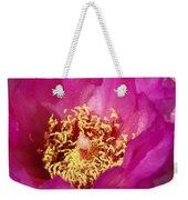 Prickly Pear Bloom Weekender Tote Bag