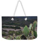 Prickly Pear Cacti Rancho Sierra Vista Satwiwa Mountains Weekender Tote Bag