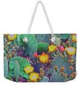 Prickly Pear Cactus 2 Weekender Tote Bag
