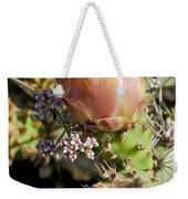 Prickly Pear Flower 4 Weekender Tote Bag