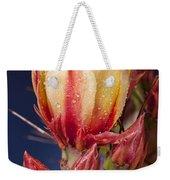Prickly Pear Flower Wet Weekender Tote Bag
