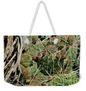 Prickly Pear Revival Weekender Tote Bag