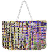 Prickly Poppy And Colors Abstract. Weekender Tote Bag