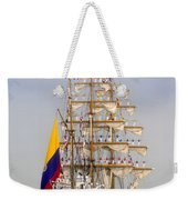 Pride Of Columbia Weekender Tote Bag
