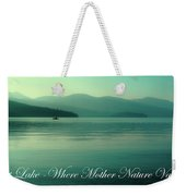 Priest Lake - Where Mother Nature Vacations Weekender Tote Bag