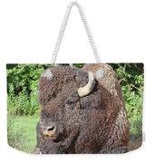 Prim And Proper Bison Weekender Tote Bag