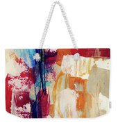 Primary 2- Abstract Art By Linda Woods Weekender Tote Bag