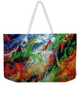 Primary Abstract I Detail 2 Weekender Tote Bag