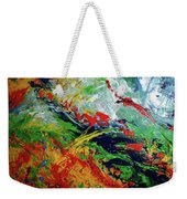 Primary Abstract I Detail 3 Weekender Tote Bag