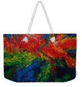 Primary Abstract II Weekender Tote Bag