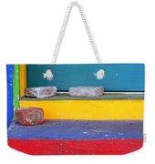 Primary Colored Doorstep Weekender Tote Bag