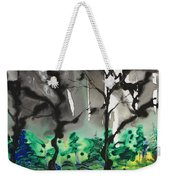 Primary Forest Weekender Tote Bag