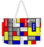 Primary Passion Weekender Tote Bag by Tara Hutton