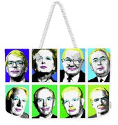 'prime Ministers Question Time X 16' Weekender Tote Bag